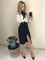 Женская стильная юбка  НД328 (бат), фото 1