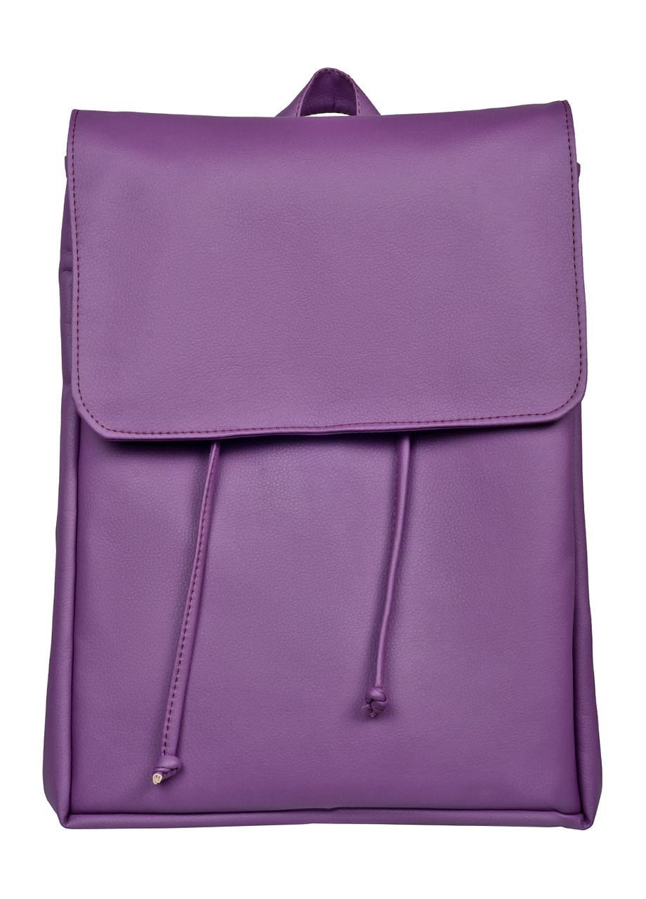 Городской рюкзак женский фиолетовый SamBag Самбег разные размеры 22400018