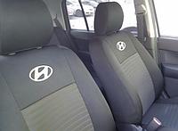 Чехлы на сиденья Хендай Матрикс (Hyundai Matrix) (универсальные, автоткань, с отдельным подголовником)