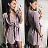 Платье на запах, люрекс. Размер:42-46. Разные цвета (136), фото 4