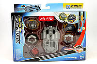 Бейблейд Вайврон W3 Фафнир F3 ниточный пускатель Beyblade Burst Evolution Spin Shifter Pack