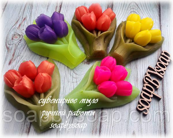 """Мыло """"Букет тюльпанов"""", фото 1"""