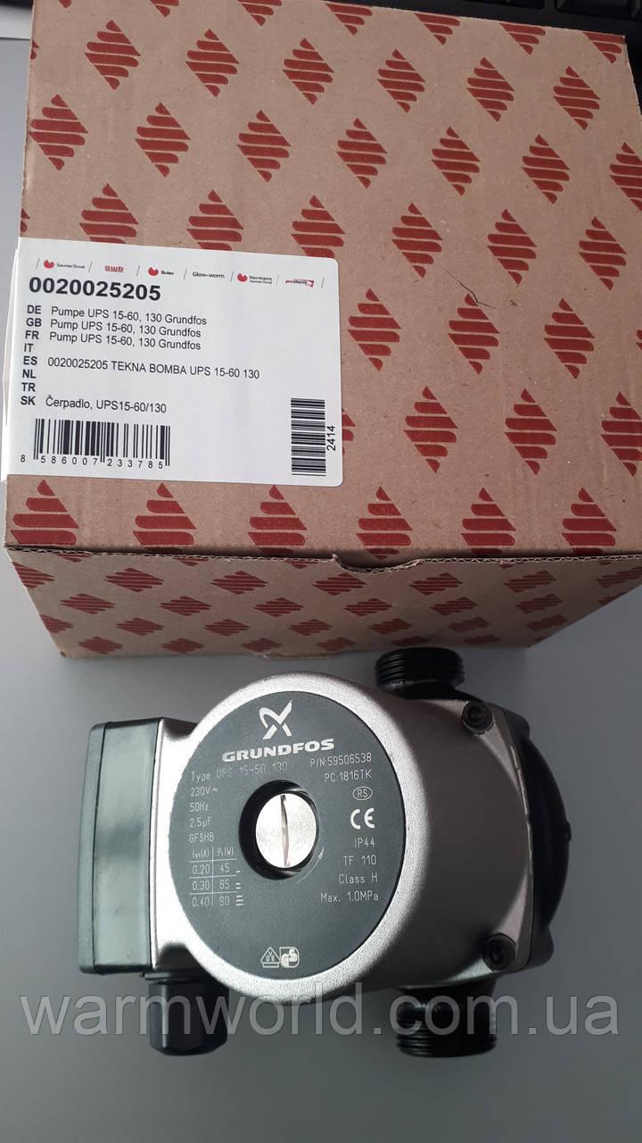 0020025205 Насос Grundfos UPS 16-60 130 Protherm