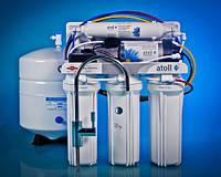 Система обратного осмоса, пятиступенчатая с насосом, ATOLL, A-560Ep  (A-550p STD)