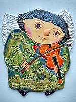 Панно «Ангел зі скрипкою»