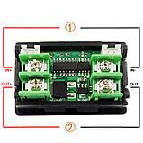8 в 1 150V 20A 3KW DC Цифровой вольтметр, амперметр, емкости, ваттметр, таймер, термометр, фото 7