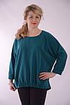 Нарядная блуза в стиле Бохо бл 003-2 молоко ,коралл,темно синий., фото 4