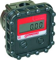 Електронний лічильник MGE 40, 2-40 л/хв, +/-1%, для дизельного палива, масла КИЇВ