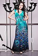 Женский сарафан нарядный в 2х цветах Пион