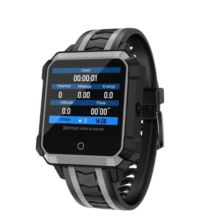 "Розумний годинник SUNROZ H7 смарт-годинник 1.54"" IP68 Сірий (SUN3306)"
