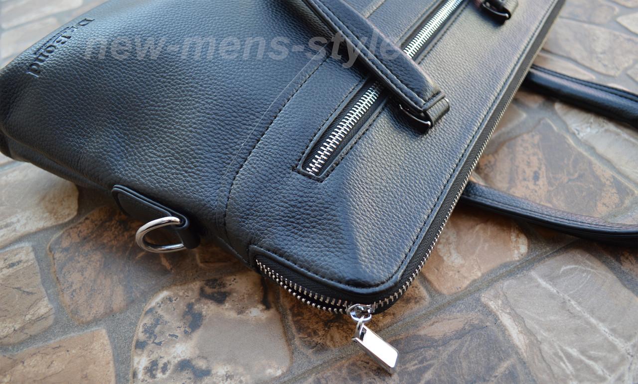 5d370e066903 ... Мужская кожаная фирменная деловая сумка портфель Bond для документов,  ...