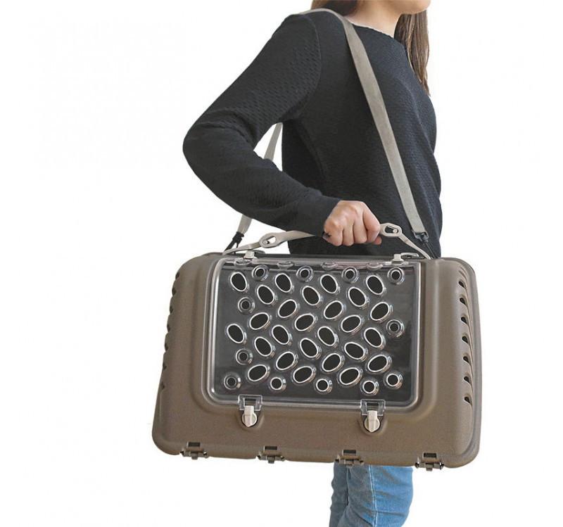 Переноска  P-BAG Fashion S01190103 для собак и кошек до 10кг (44,5*26,5*28см)