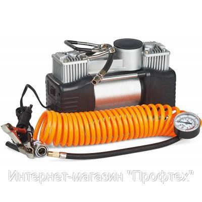 Миникомпрессор автомобильный двухпоршневой Expert E MIOL-81-118