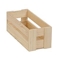 Ящик реечный из дерева серии Аiry (10х11х26 см) WoodMood