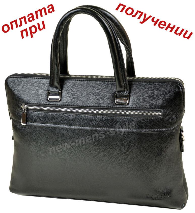 66ff3c7a3a3c Мужская кожаная фирменная деловая сумка портфель Bond для документов ...