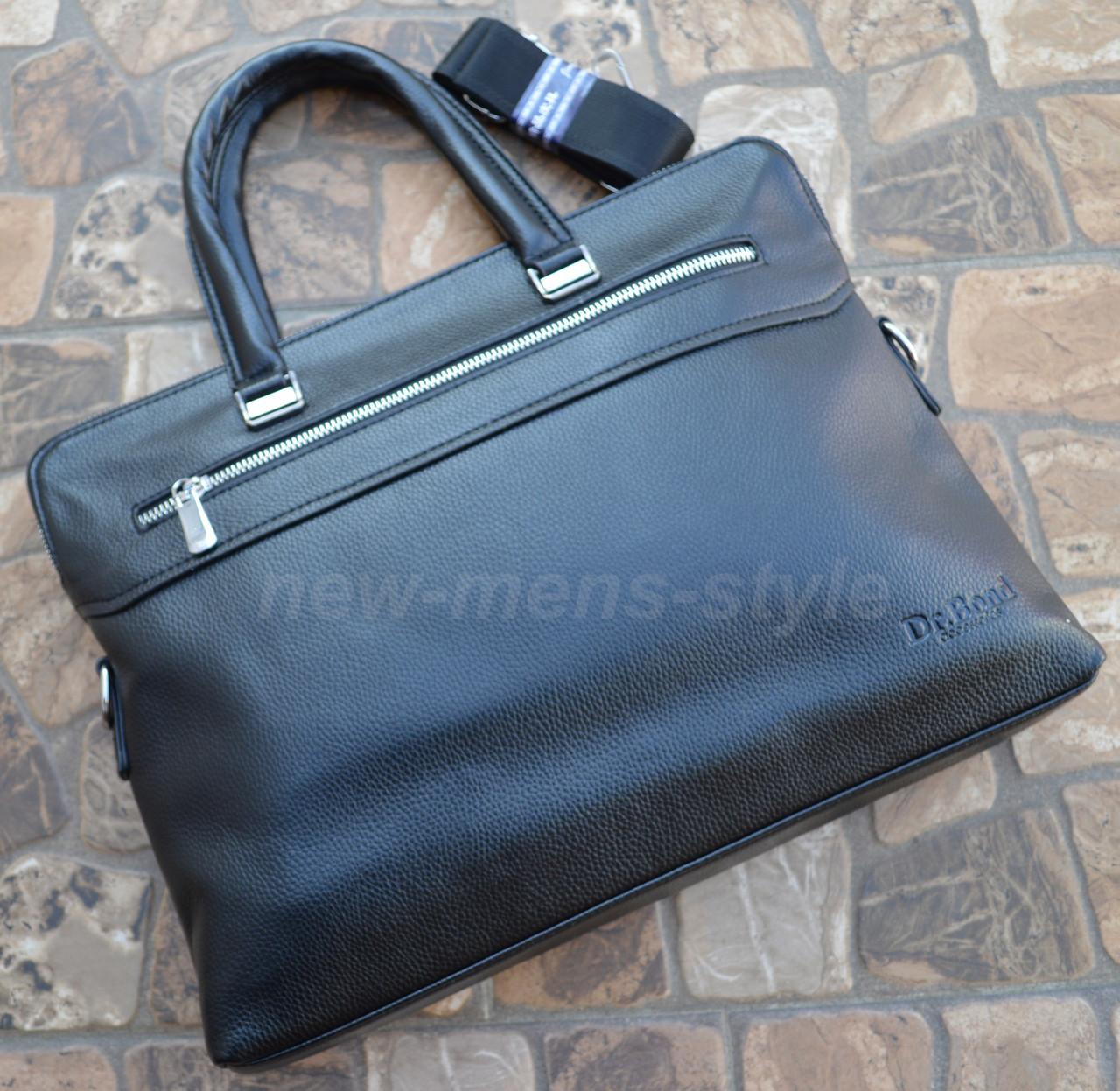 c00221811006 Мужская кожаная фирменная деловая сумка портфель Bond для документов 2 ...