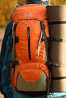 Туристический рюкзак, штурмовой 45+5L New Outlander/ для взрослых, для подростков - 1009 /оранжевый
