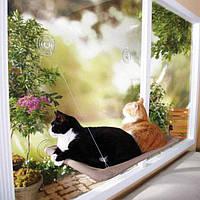 Оконная кровать для котиков Sunny seat window mounted cat bed