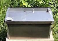 Домашняя коптильня 480х270х280  2.1 мм Горячего копчения (холоднокатанная сталь)