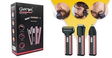 Триммер, бритва и стрижка Gemei GM789 Аккумуляторный триммер 3 в 1 FX-XX