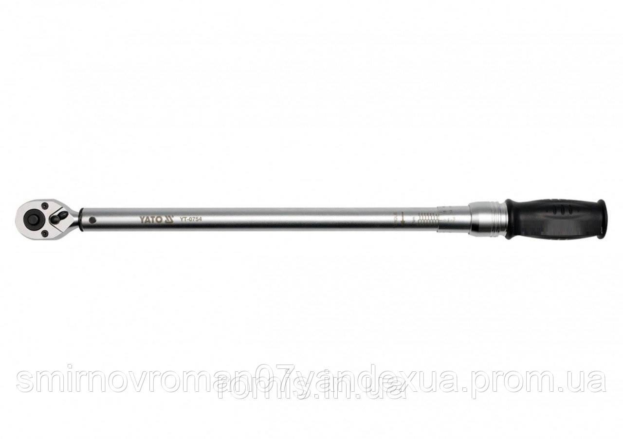 """Ключ динамометрический YATO 1/2"""" 60-340 Нм"""