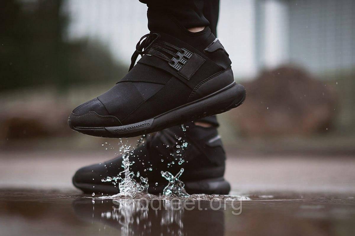 Кроссовки Adidas Y-3 Qasa High Black