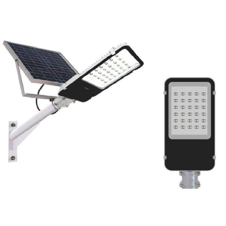 Лампа уличная Zuke ZK7102 с солнечной панелью LED 30 Вт