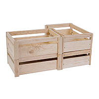 Комплект 06: ящики из дерева BXM 153040 - 4 шт