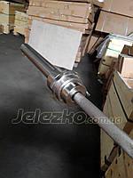 Гриф для пауэрлифтинга Динамо Луганск олимпийский до 1000 кг, с замками, фото 1