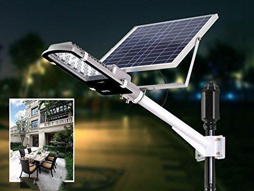 Лампа уличная Zuke ZK7101 с солнечной панелью LED 24Вт