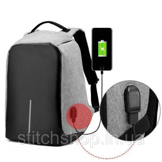 Рюкзак Bobby антивор с USB
