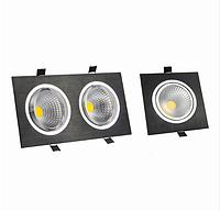 Регулируемые карданные светильники