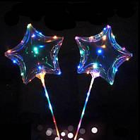 Свеитодиодные кулі бобо зірка,що світяться кульки