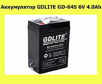Аккумулятор GDLITE GD-645 6V 4.0Ah