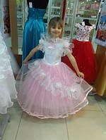 Детское пышное платье с цветами