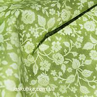 35007 Розочки. Натуральный хлопок. Ткань для для летнего платья и сарафанов, а так же для кукол и пэчворка.
