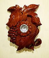 """Часы настенные ручной работы """"Гроздь Винограда"""""""