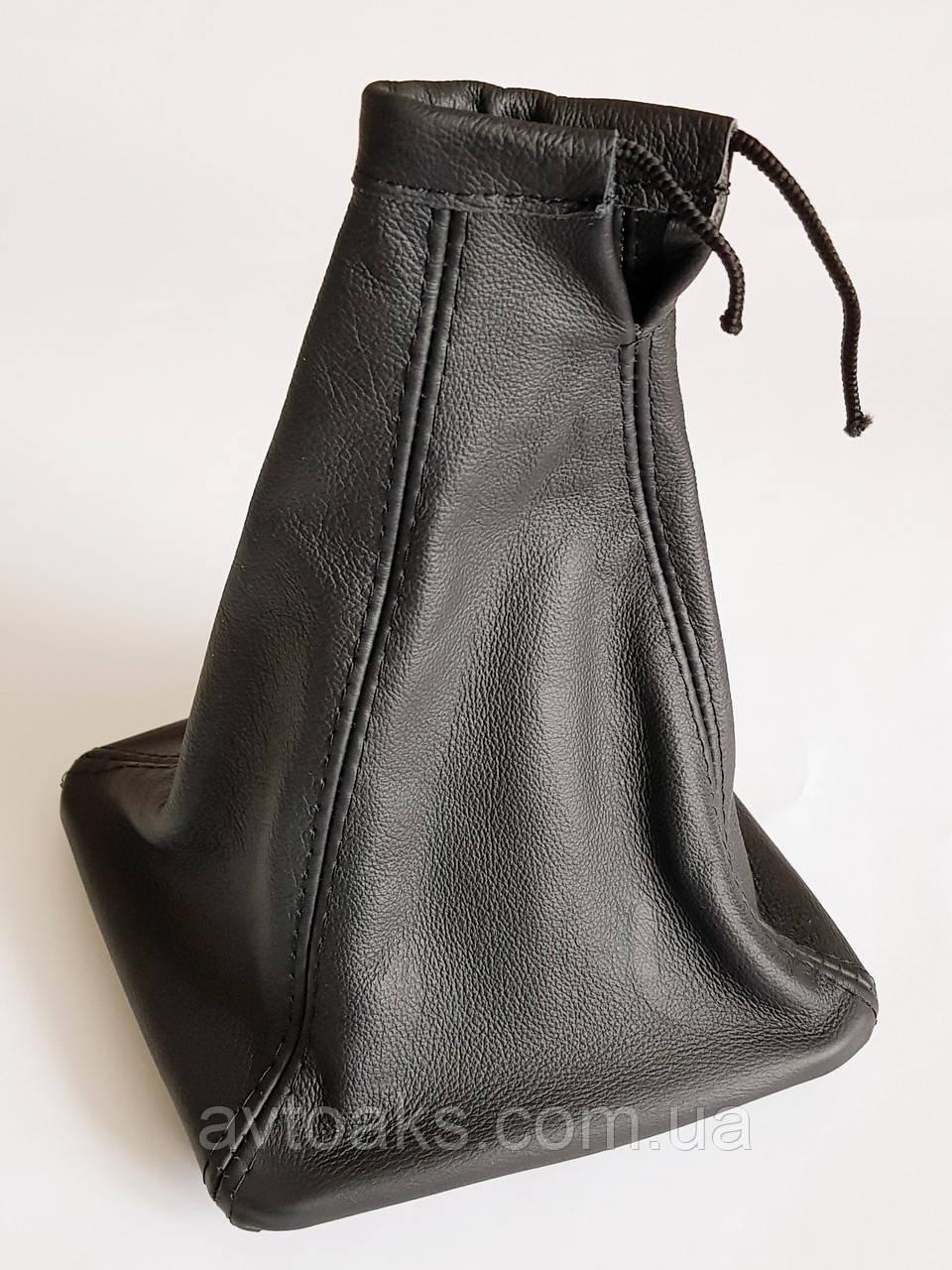 Чехол КПП ПРИОРА с рамкой, кожаный