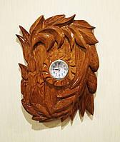 Часы настенные из дерева ручной работы