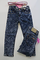 Стрейчевые джинсы для девочек 110, 116, 122, 128, 134 рост.