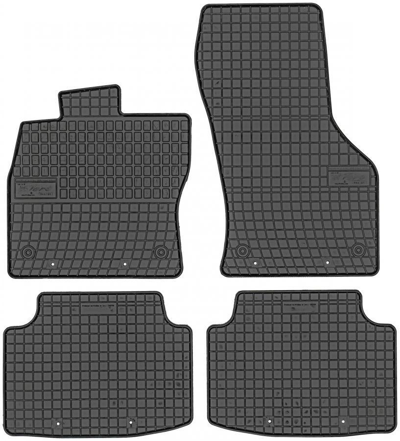 Коврики в салон Volkswagen Passat B8 c 2014- модельные резиновые Elegant EL 20542728