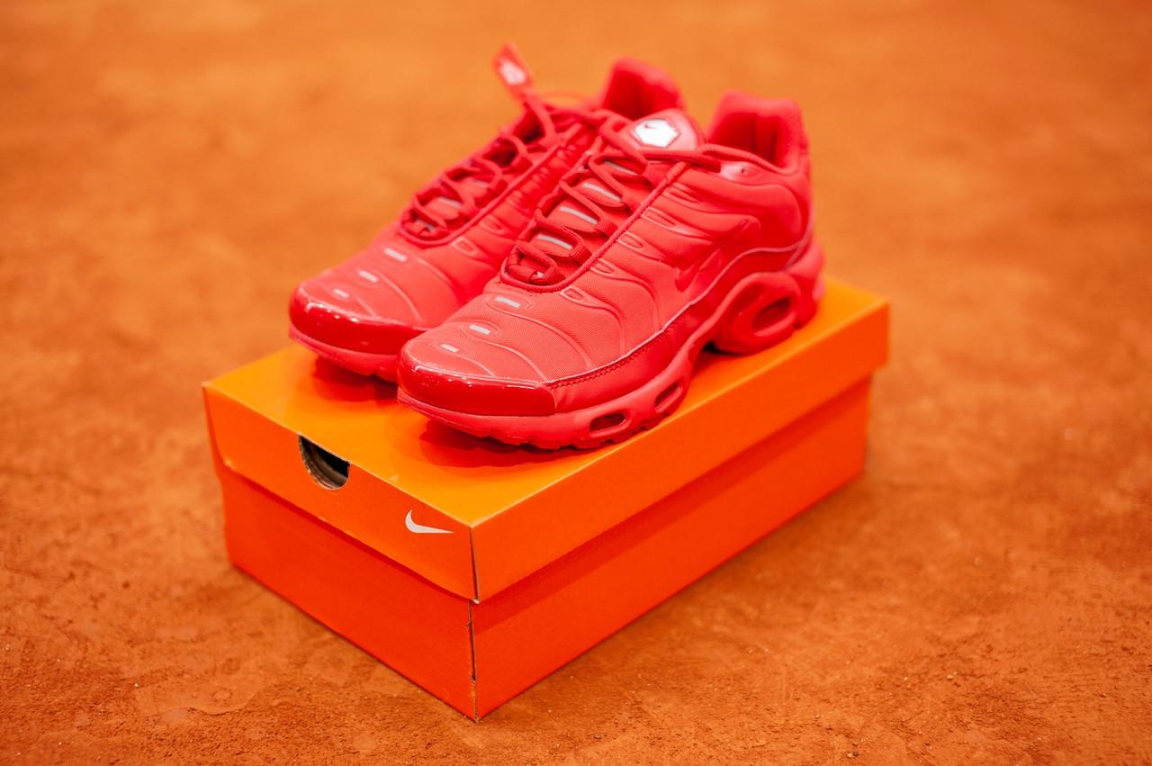 Мужские красные кроссовки в стиле Nike Air Max Tn Plus, (Реплика ААА)