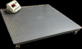 Весы электронные платформенные ВПД 1000кг (1200х1200мм)
