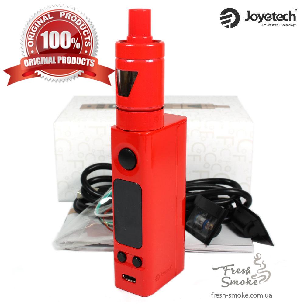 Электронная сигарета Joyetech eVic VTC Mini + атомайзер Tron S   Вейп Starter Kit Красный (Оригинал)