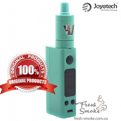 Электронная сигарета Joyetech eVic VTC Mini + атомайзер Tron S   Вейп Starter Kit Cyan (Оригинал)