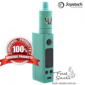 Электронная сигарета Joyetech eVic VTC Mini + атомайзер Tron S | Вейп Starter Kit Cyan (Оригинал)