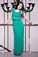 Платье женское длинное в 3х цветах IR Шифон