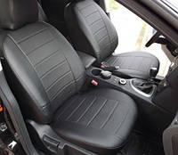 Чехлы на сиденья БМВ Е34 (BMW E34) (универсальные, экокожа, отдельный подголовник)