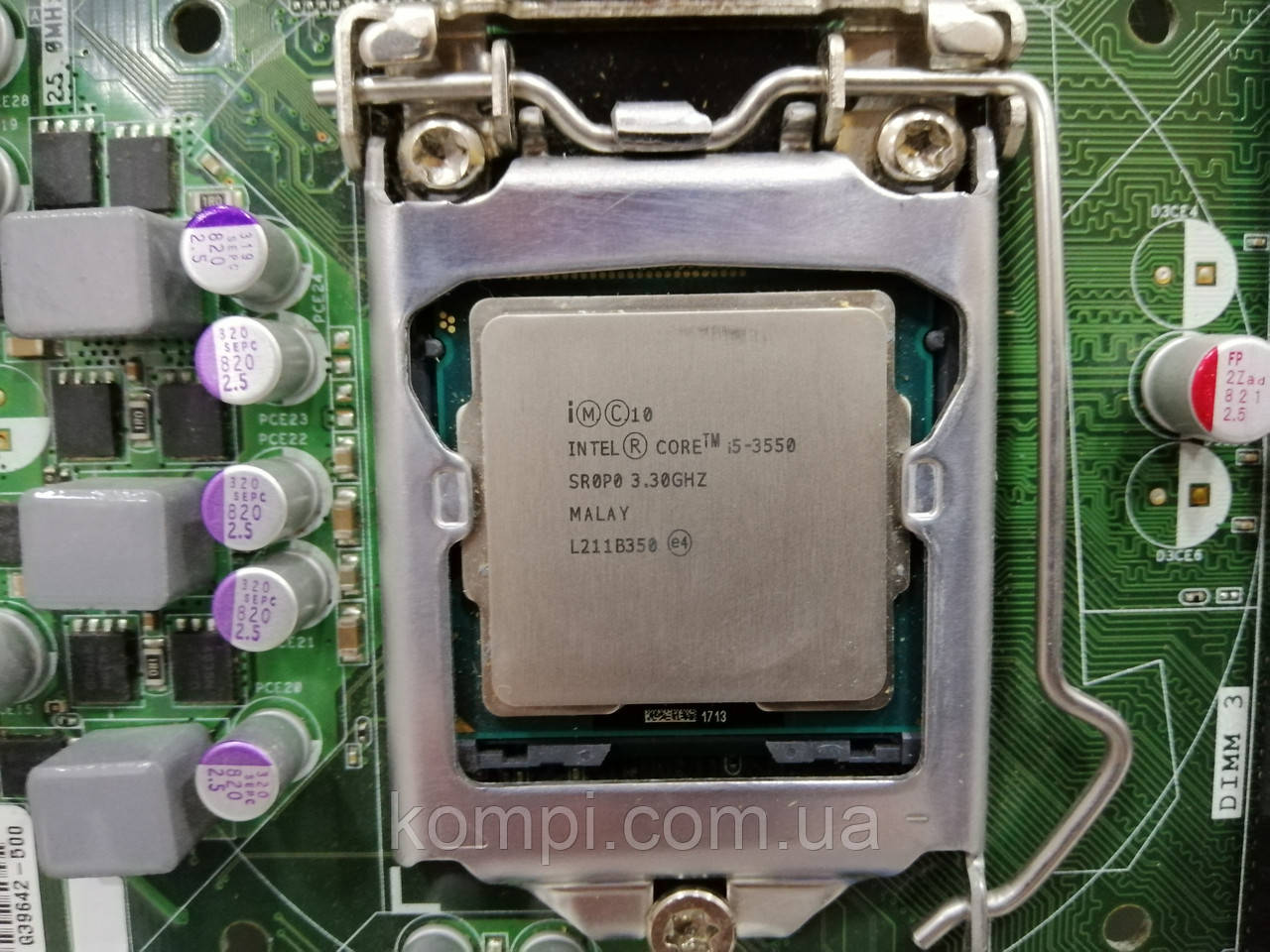 Процессор Intel Core i5-3550 Processor (6M Cache,3.3Ghz  up to 3.70 GHz) s1155