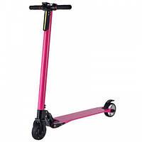 Электросамокат Freego карбоновый (розовый)
